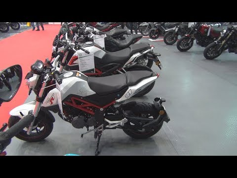 Benelli Tornado Naked T 125 CBS (2019) Exterior and Interior