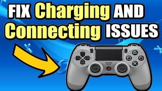 5 Ways to FIX PS4 Controller not CONNECTING or CHARGING (Easy Method)