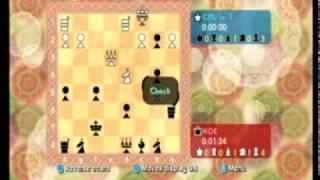 Wii Chess - Gameplay Movie 1