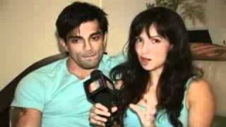 Karan Singh Grover and Shraddha Nigam - Blog Video 1