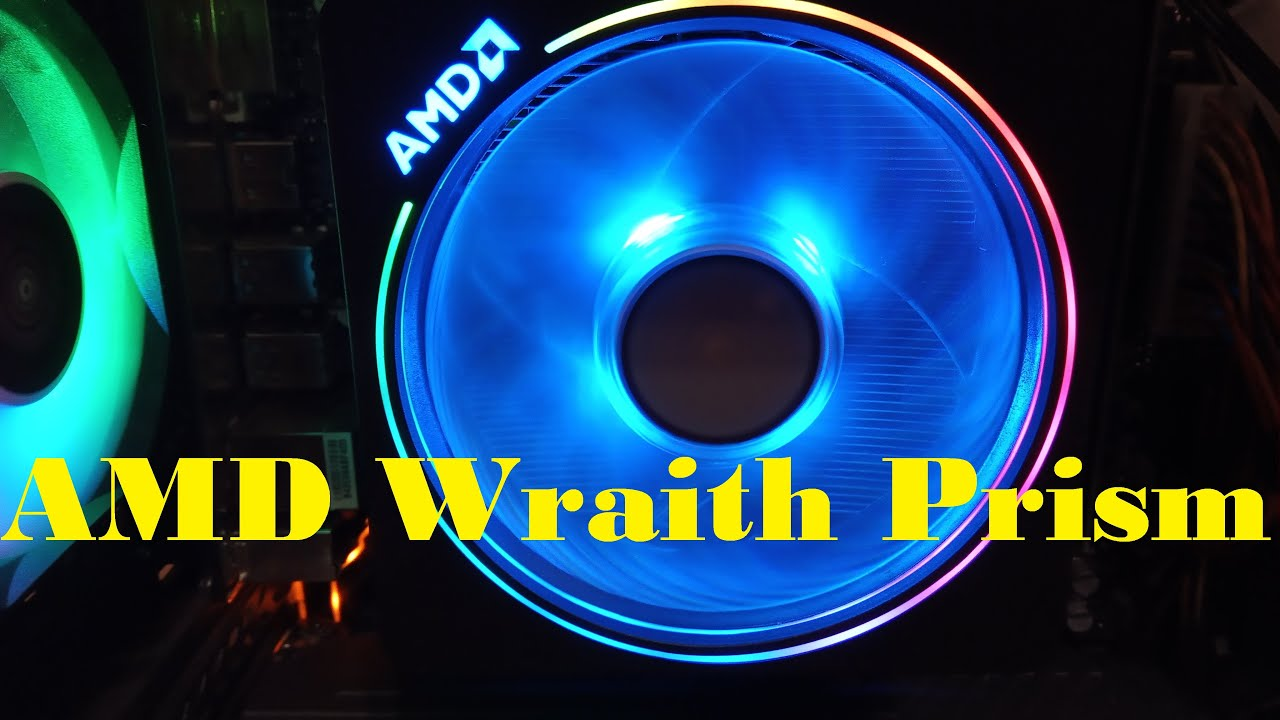 AMD Wraith Prism достойное охлаждение для процессора AMD Ryzen 3700x c Aliexpress