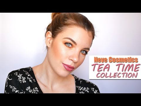 NEVE COSMETICS TEA TIME COLLECTION #GRWM!