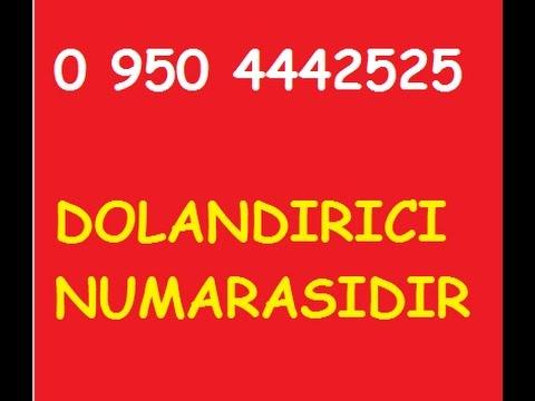 0 950 4442525 AKBANK DOLANDIRICISI İLE HİKAYEM 23.03.2017