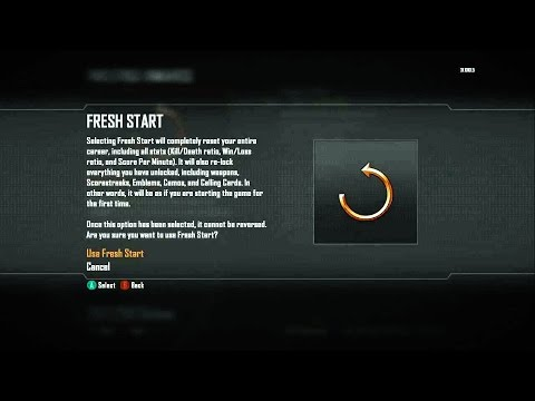 Resetting My Stats For A Calling Card!! | BO3: Road To Master #6