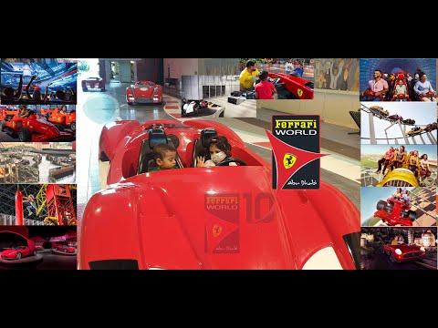 Ferrari World Abu Dhabi | 2020 | Formula Rossa, Turbo Track Abu Dhabi Yas UAE