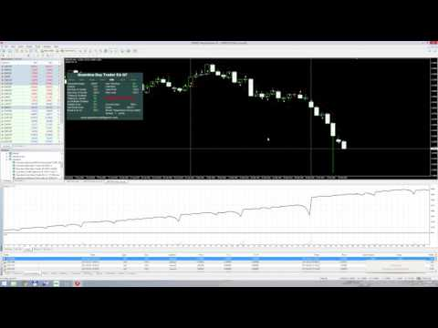 Quantina Day Trader Forex EA Q7 Strategy Backtest 1 year