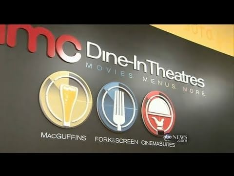 AMC Dine-In Movie Theater Experience