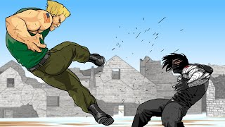 WINTER SOLDIER Vs. GUILE (Full Version) - Super Soldiers Clash
