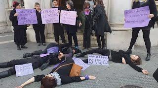 Protesta feminista en Mallorca