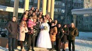 Свадьба Алены и Александра.После загса.2016г.