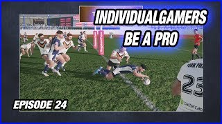 Rugby League Live 4: Player Career EP24 - BUTTER FINGERS