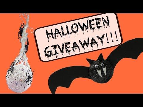 Halloween Giveaways!