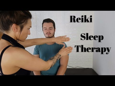ASMR Extremely Relaxing Reiki Sleep Therapy *REAL PERSON*