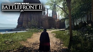 Star Wars Battlefront 2 - DARTH VADER GAMEPLAY! TAKODANA (Maz