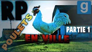 Gmod DarkRP Troll : Les poulets font la loi en ville ! Partie 1