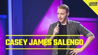 Casey James Salengo At Bat | Just For Laughs
