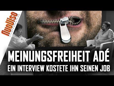 Meinungsfreiheit adé: Ein Interview bei Ken Jebsen kostete ihn seinen Job