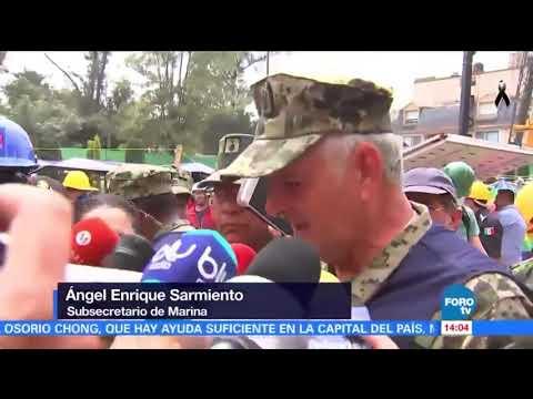 México: niegan que haya niña atrapada con vida bajo escombros de una escuela