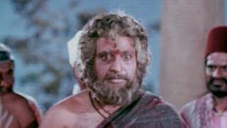 Sri Shirdi Sai Baba Mahathyam Movie Scenes - Nanavali yelling at Sai Baba