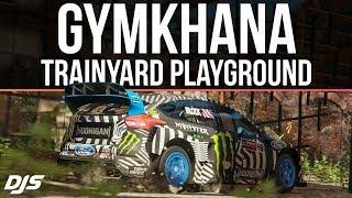 Forza Horizon 4 - Gymkhana Trainyard Playground - Custom Route Creator