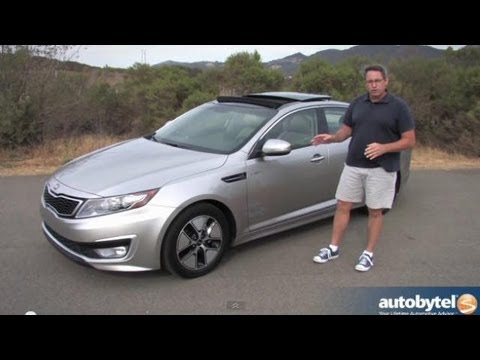 2013 Kia Optima Hybrid Test Drive U0026 Car Video Review
