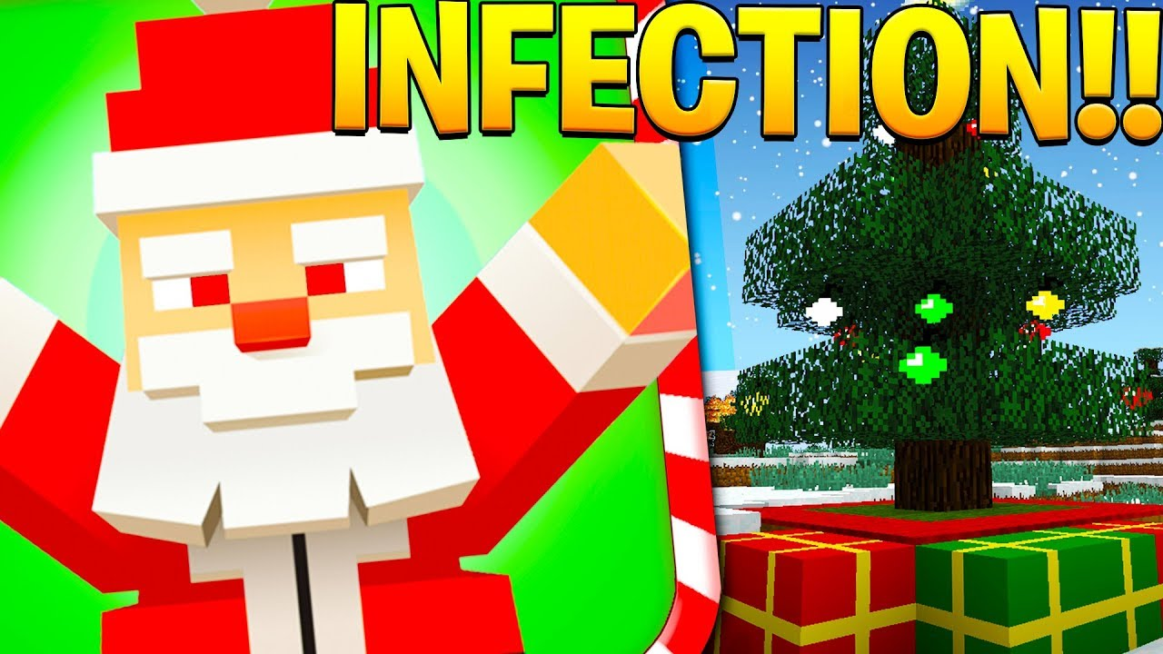 CHRISTMAS INFECTION MODE - MINECRAFT MURDER MYSTERY