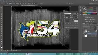 tutorial sederhana membuat design no start by siz17ujuh menggunakan photoshop cs6