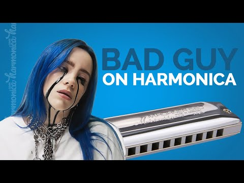 Billie Eilish - Bad Guy (Harmonica Cover)