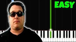 All Star, but it's LEGIT EASY PIANO TUTORIAL, I bet 9.999.999$ You Can PLAY THIS!