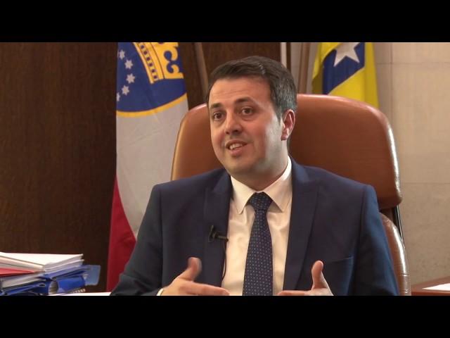 Intervju premijer ZDK Mirza Ganić