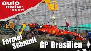 Chaostage bei Ferrari? - Formel Schmidt GP Brasilien 2019 | auto motor und sport