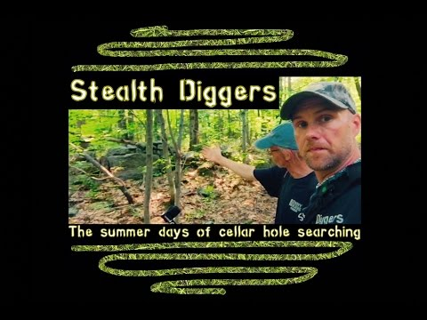 #111 The Summer days of cellar hole searching - metal detecting NH New Hampshire