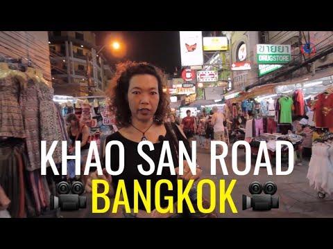 Visiting Bangkok's popular Khao San Road