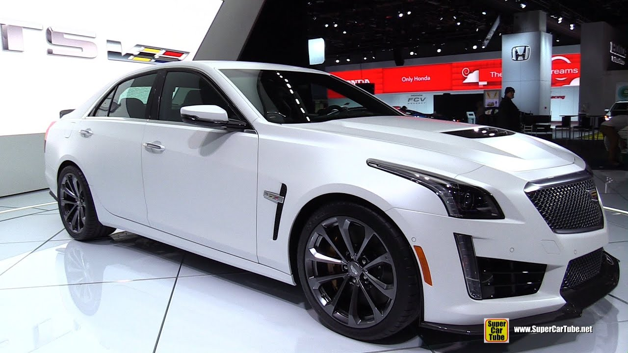 2016 Cadillac V Series Cts Coupe Exterior And Interior Walkaround 2017 Detroit Auto Show