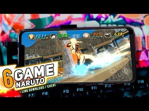6 Game Naruto Terbaik Pada PPSSPP Android SPEK KENTANG | Android OFFLINE