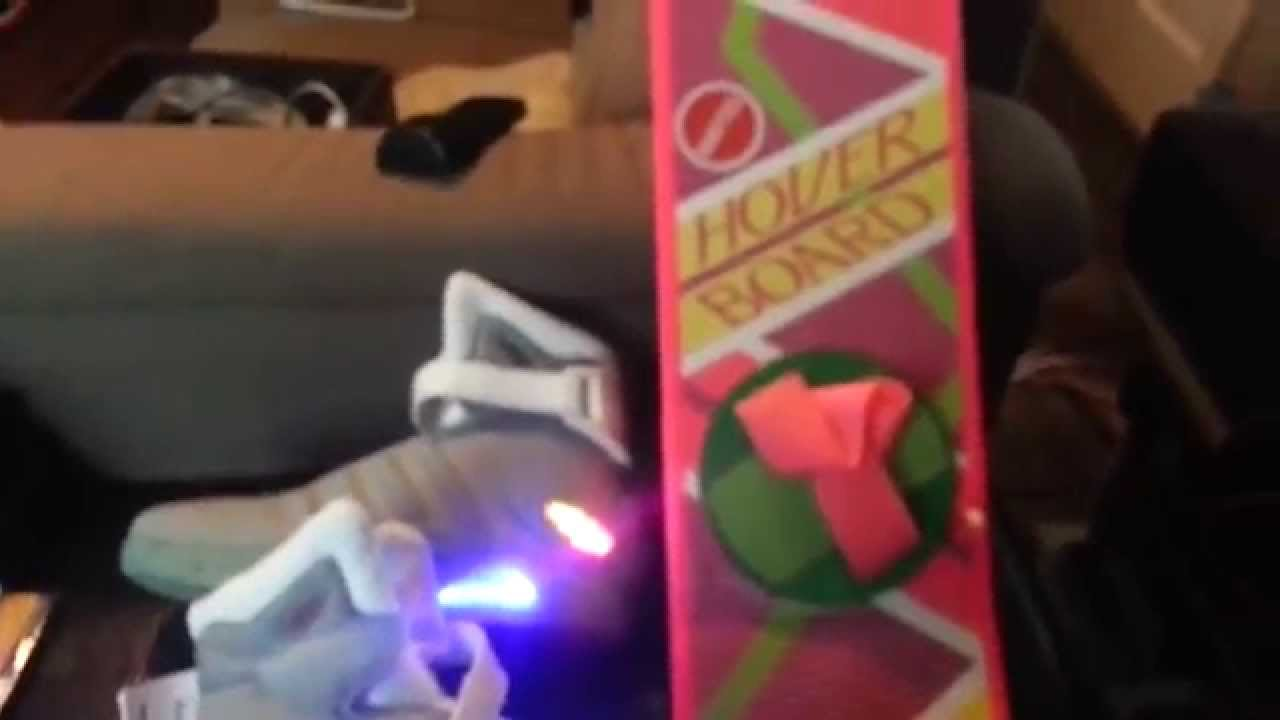 Back To The Future 2 Light Up Shoes A Exclusive From