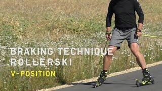 Fischer Nordic | Rollerski Braking Technique