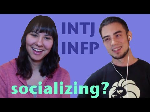 Intj female dating intj male