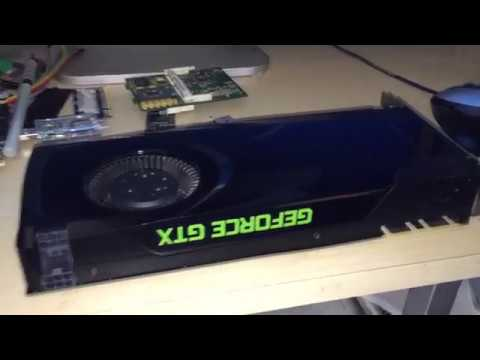 How to Flash an nVidia GeForce GTX680 Graphics Card for a Mac Pro
