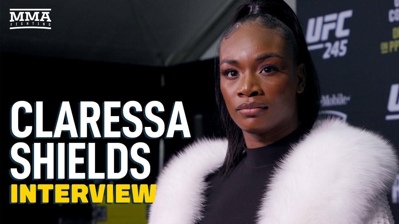 Claressa Shields Details Dana White Meeting On Potential Amanda Nunes Fight - MMA Fighting