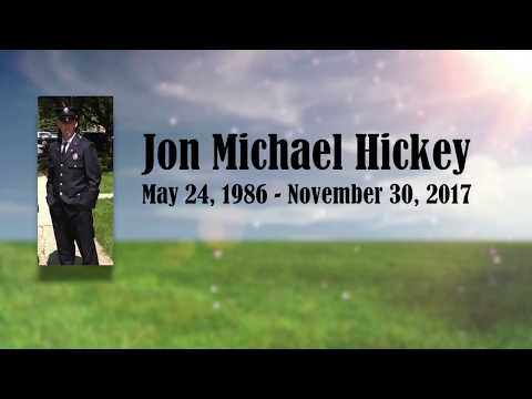 The Funeral of Jon Michael Hickey