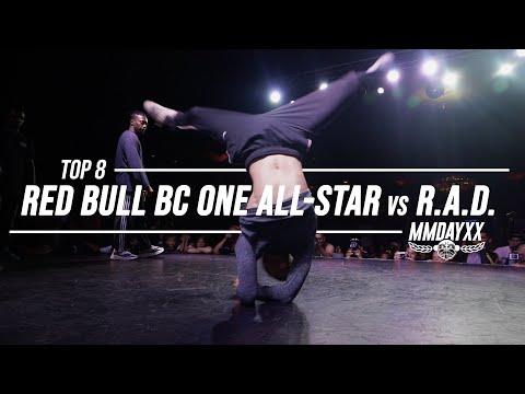 Red Bull BC One All-Stars Vs RAD // Top 8 // .stance // Massive Monkees 2019