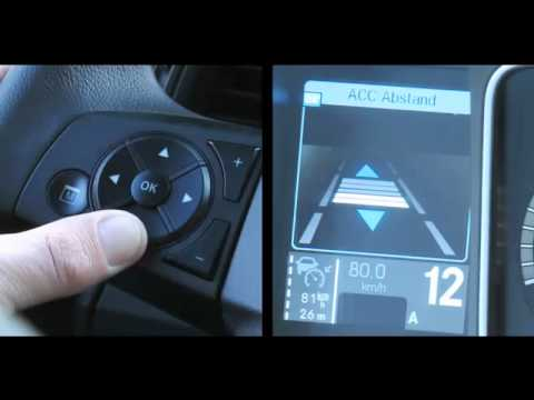 Der neue MB Actros MP4 (10/23) : Abstandshalte-Assistent /Stop-and-go Funktion   -   Video .....Oeni