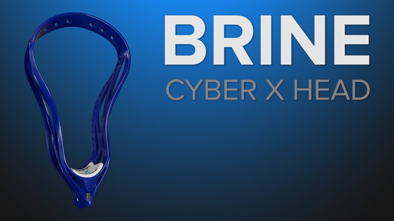 Brine Cyber X lacrosse head