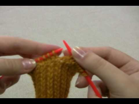 How To Knit Socks Turning The Heel Youtube