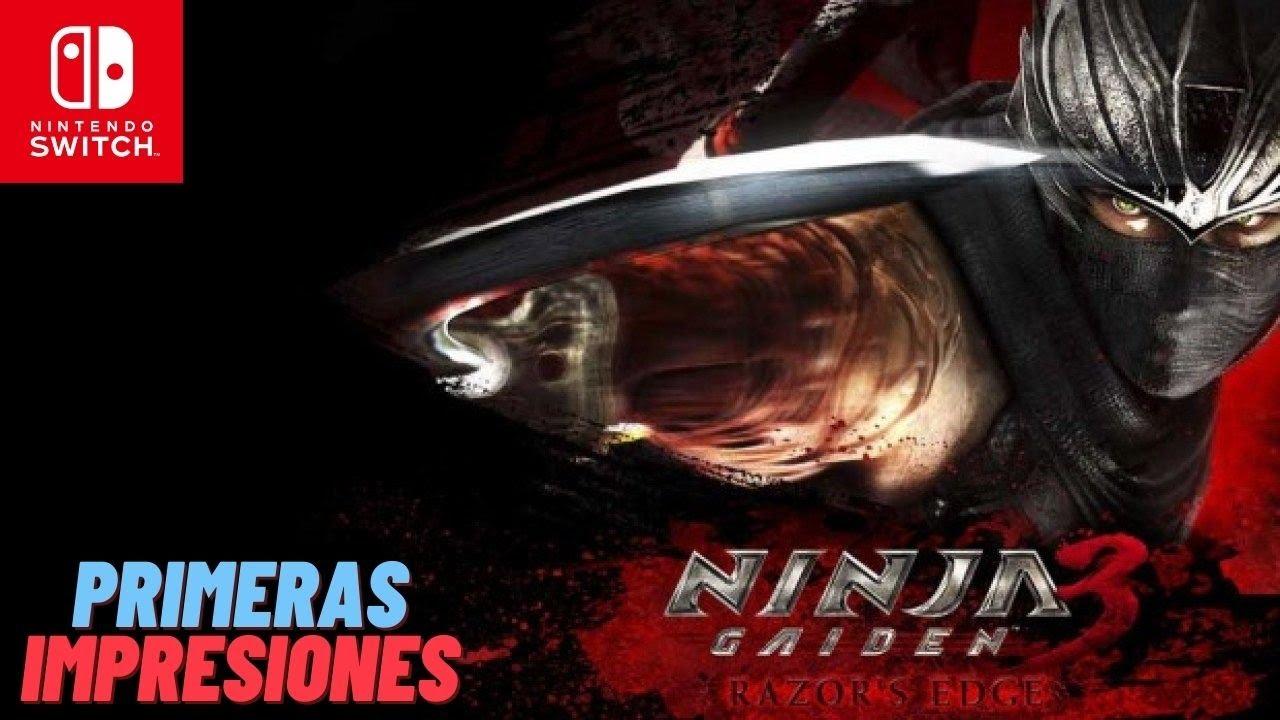 Ninja Gaiden 3: Razor's Edge   Nintendo Switch   Primeras Impresiones