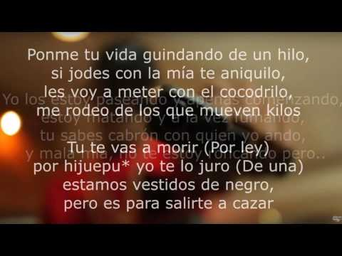 Ñejo - De negro ft. Jamby