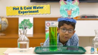 Hot And Cold Water Temperature Density Chemistry Experiment For Kids At Home - Cool Educational Hack