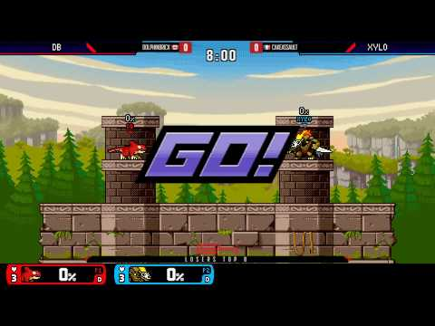 Genesis 4 - DolphinBrick Vs. CakeAssault - Top 8 Losers Side - Rivals of Aether