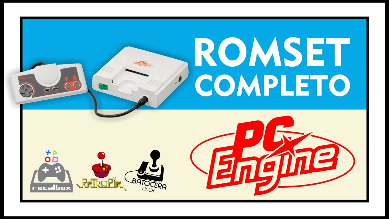 DOWNLOAD COMPLETE ROMSET OF PC ENGINE / TURBOGRAFX-16